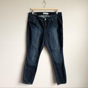 Torrid Dark Wash Skinny Jeans Denim Stretch 14 XL